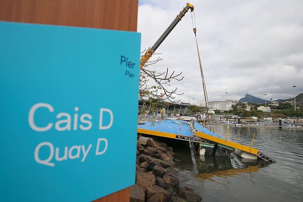 Олімпіада-2016. У Ріо обрушилася частина водного стадіону