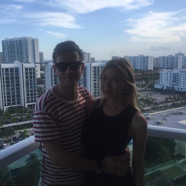 Ступка с Логуновой проводят медовый месяц в Мексике