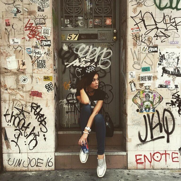 Мария Яремчук в Нью-Йорке развлеклась с брутальным рэпером