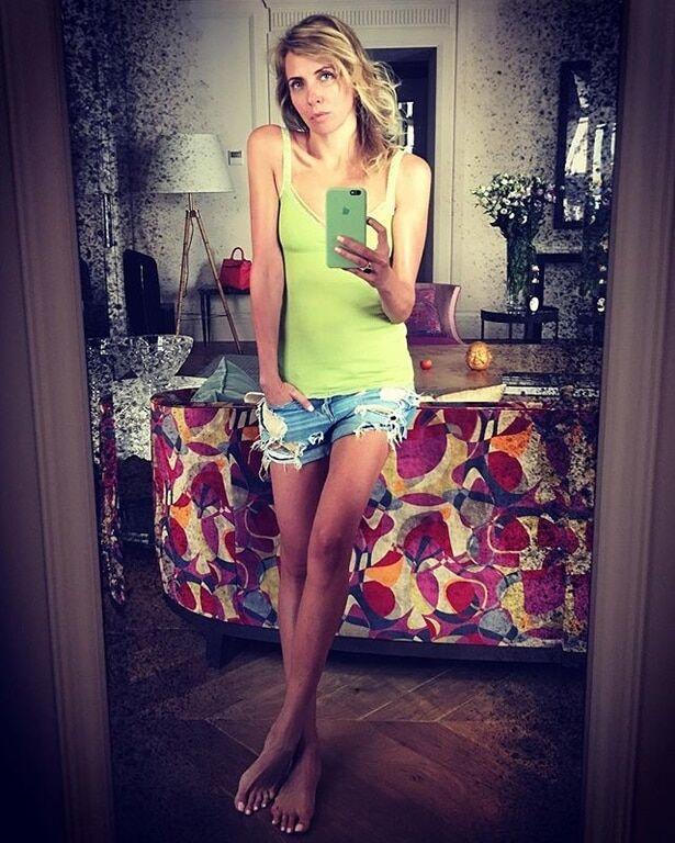 47-летняя Светлана Бондарчук поделилась пикантным снимком в нижнем белье