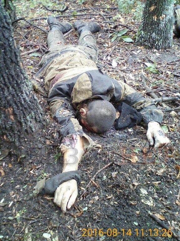 Бросили истекать кровью свои: журналист показал фото убитых на Донбассе оккупантов