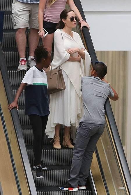 Депрессии конец: Анджелина Джоли кардинально сменила имидж после возвращения мужа