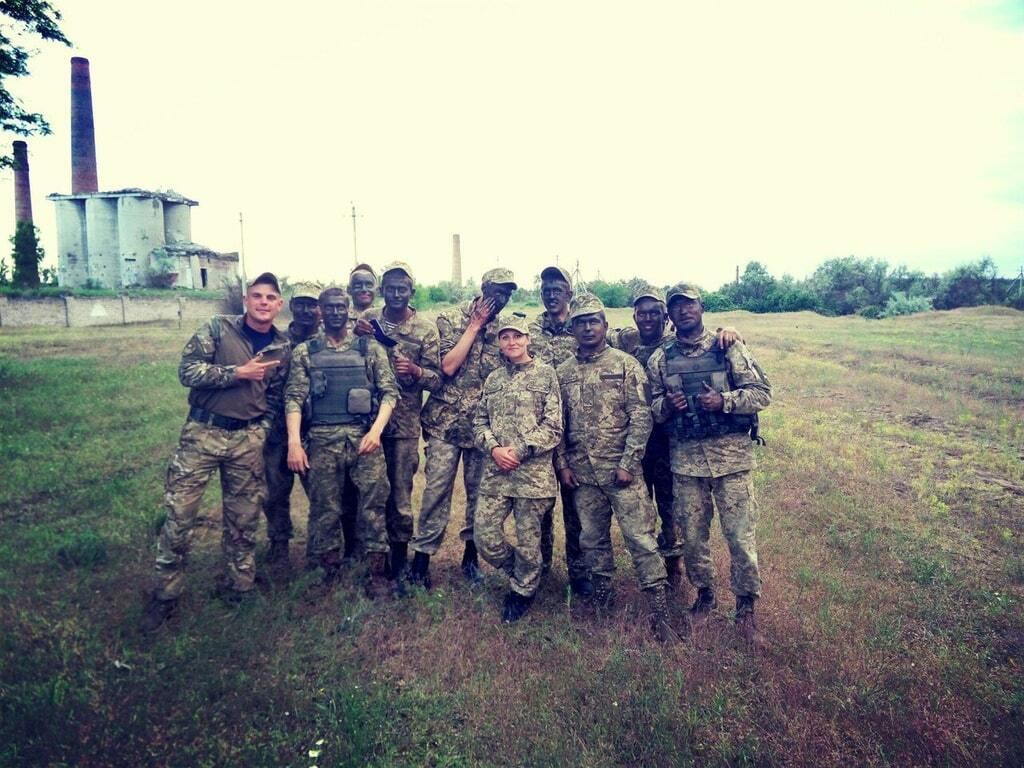 """На Донбассе зафиксированы темнокожие """"американские наемники"""" ВСУ"""