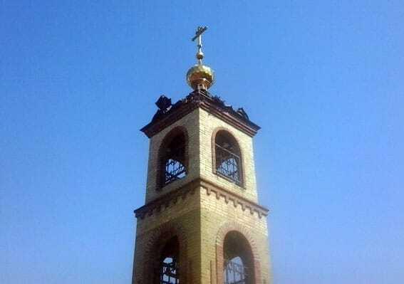 Террористы обстреляли храм в Авдеевке