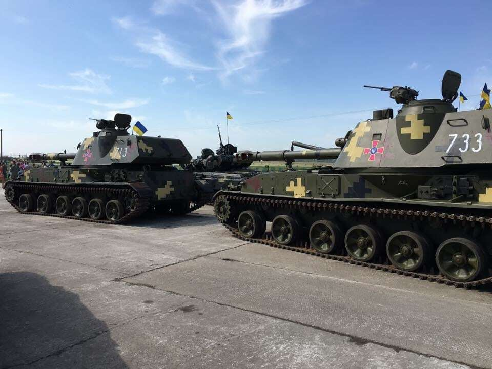 """""""Не стоило нас задирать"""": в сети показали фото украинской техники для АТО"""