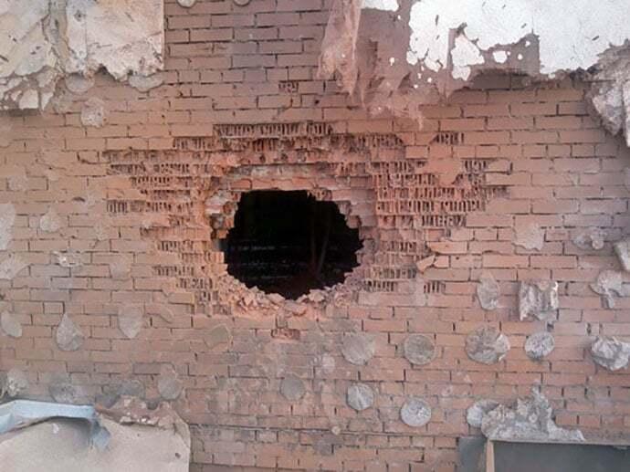 Из-за обстрела боевиками Авдеевки остановлено движение на железной дороге