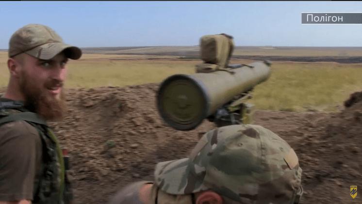 """Полк """"Азов"""" показал полевые учения бойцов"""