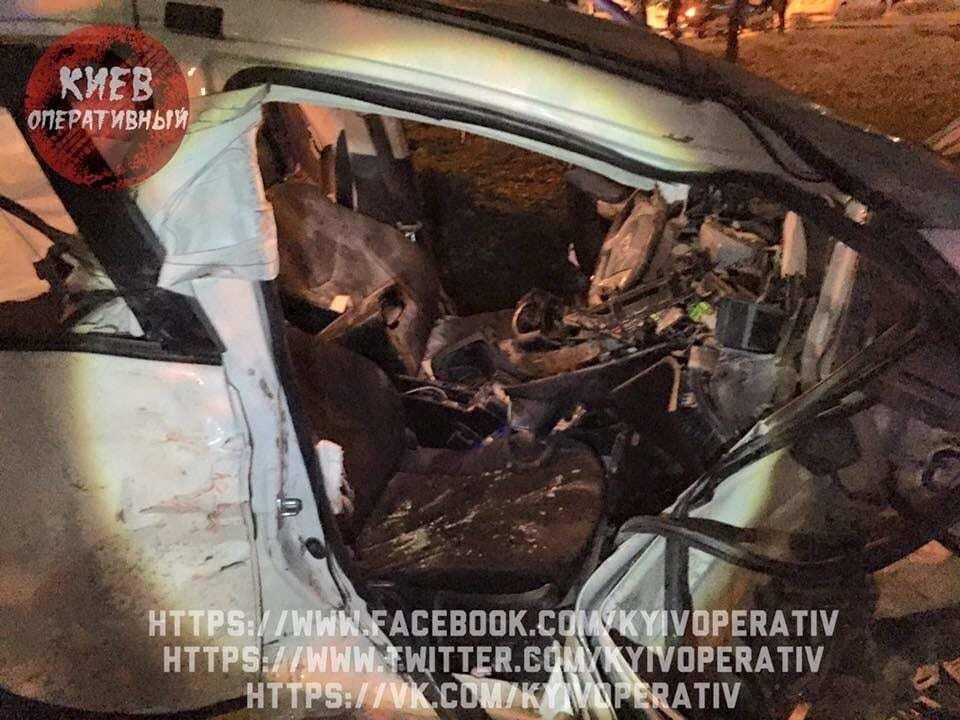 В Киеве произошло серьезное ДТП с патрульной полицией: есть пострадавшие