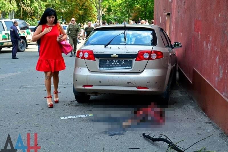 Охота начата: в Донецке мощный взрыв возле дома Моторолы разорвал человека