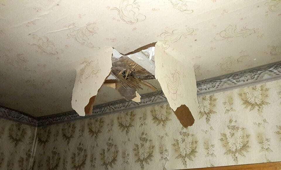 """В штабе АТО показали, как террористы """"поздравили"""" жителей Марьинки с Независимостью"""