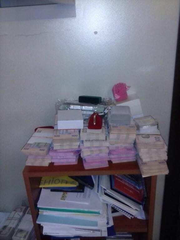 Валюта і золоті злитки: під час обшуків у в.о. ректора НАУ знайшли велику суму грошей