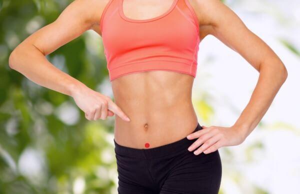 Самомассаж одной лишь точки на теле избавит от лишних килограммов