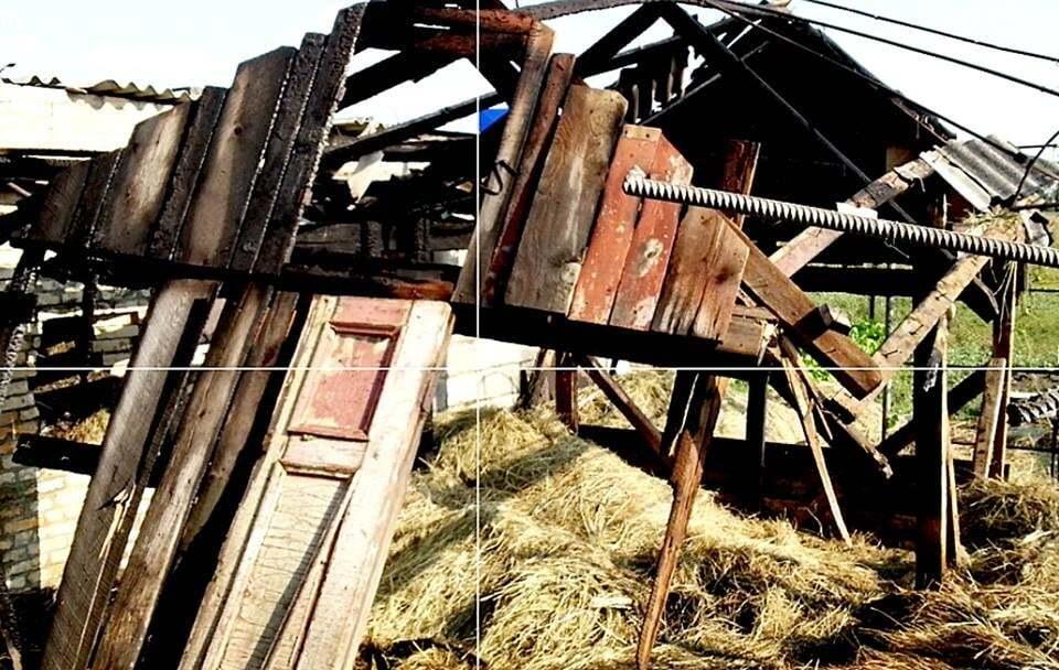 """Реактивные """"подарки"""": террористы накрыли Красногоровку """"Градами"""""""