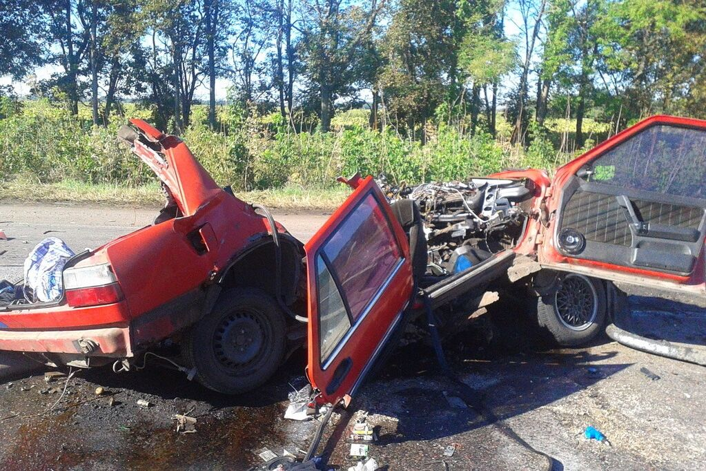 На Харьковщине столкнулись авто и рейсовый автобус: есть погибшие