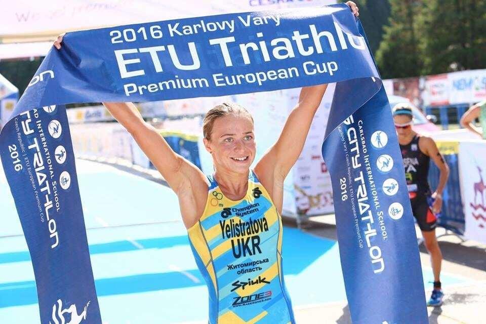 Украинка выиграла Кубок Европы по триатлону