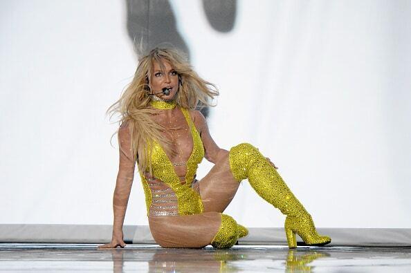 Брітні Спірс в ультравідвертому боді вразила глядачів MTV VMA-2016