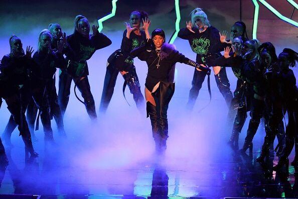 Дрейк признался Рианне в любви на церемонии вручения премий MTV VMA 2016