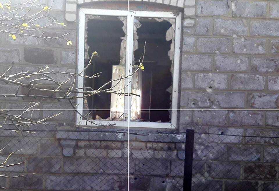 Ствольная артиллерия и танки: в штабе АТО показали последствия нового обстрела Красногоровки