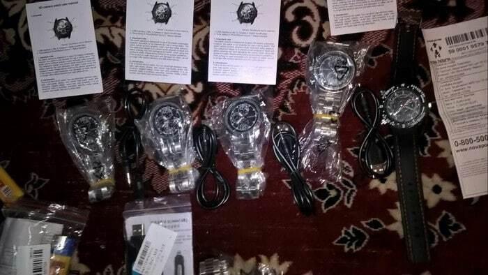 Зажигалки, часы и ручки: на Черниговщине СБУ разоблачила торговца шпионской техникой