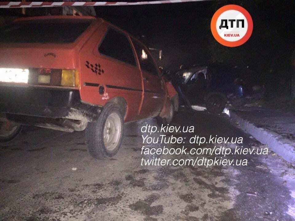 На Киевщине следователь устроил пьяное ДТП