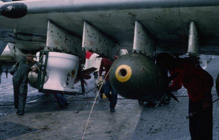 Смертельный унитаз: опубликованы фото самой необычной авиабомбы в истории
