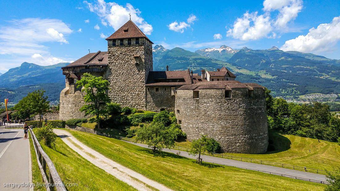 Вокруг Лихтенштейна за 80 минут