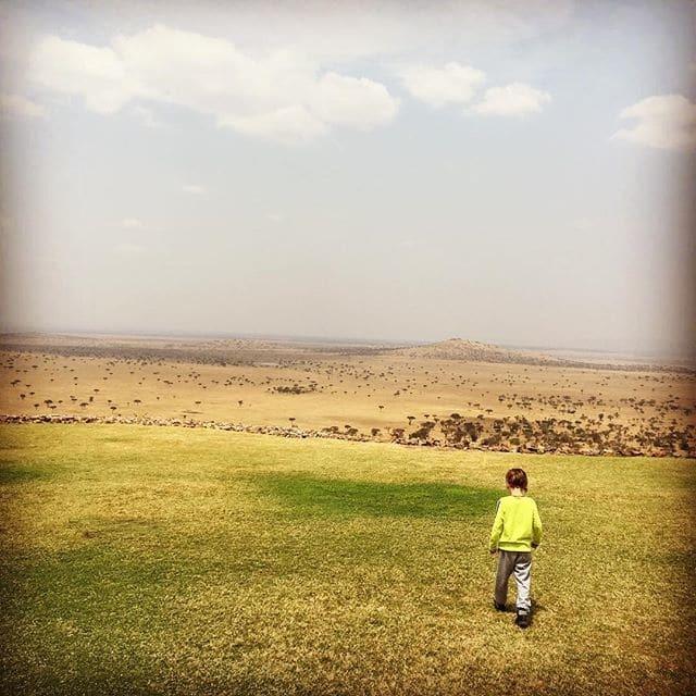 Рікі Мартін із бойфрендом і дітьми відпочив у Африці