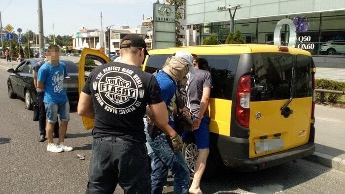 В Киеве поймали Нацгвардейца, который торговал наркотиками