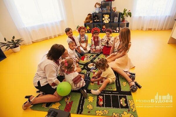 """Открытие нового детского сада при ЖК """"Щасливий"""" в Петропавловской Борщаговке"""