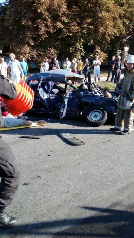 Масштабна ДТП у Білій Церкві: постраждало п'ятеро людей, двоє в комі