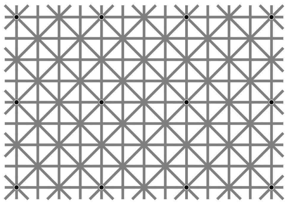 Попробуй рассмотри: оптическая иллюзия с точками стала вирусной в сети