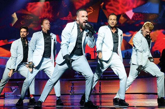 """На 42-летии Александра Реввы выступили """"Backstreet Boys"""" в полном составе"""