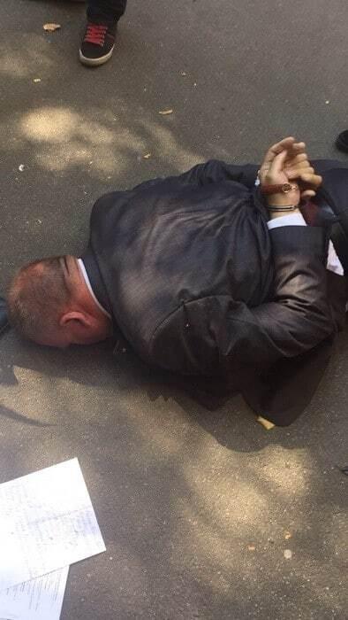 Задержание на Банковой в Киеве: взяточник оказался крупным аферистом