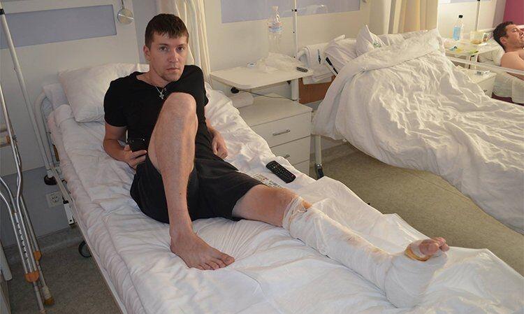 Українські лікарі відновили ногу бійцю АТО методом клітинних технологій