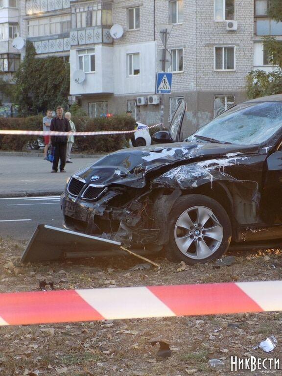 Резонансна ДТП в Миколаєві: водій BMW збив на смерть чотирьох дорожників