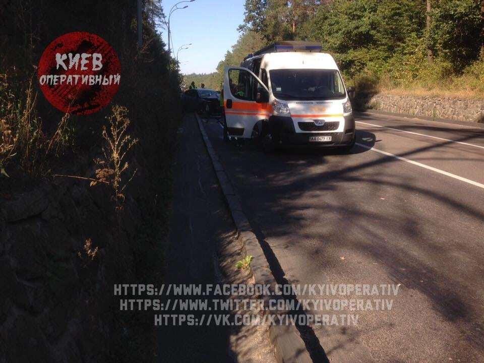 У ДТП під Києвом загинув водій Renault