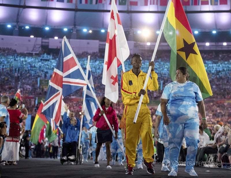 В Рио состоялось официальное закрытие Паралимпиады-2016