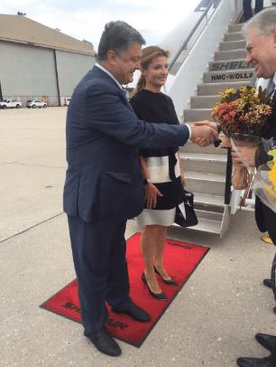 Примет участие в Генассамблее ООН: Порошенко прибыл в Нью-Йорк