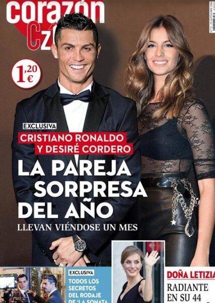 """Криштиану Роналду закрутил бурный роман с пышногрудой """"Мисс Испания"""" - СМИ"""