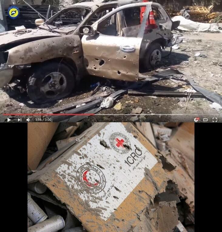 Убийцы: CIT разоблачила ложь России о гибели гумконвоя ООН в Сирии