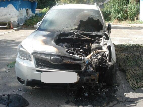 У Києві спалили автомобіль директора фірми