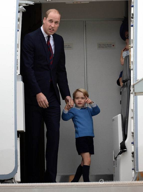 Вперше взяли дітей в офіційну поїздку: принц Вільям із дружиною прибули до Канади