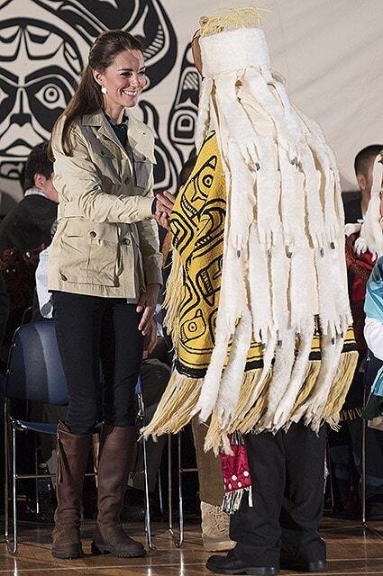 Кейт Миддлтон и принц Уильям в Канаде побывали в Дождевом лесу Великого Медведя