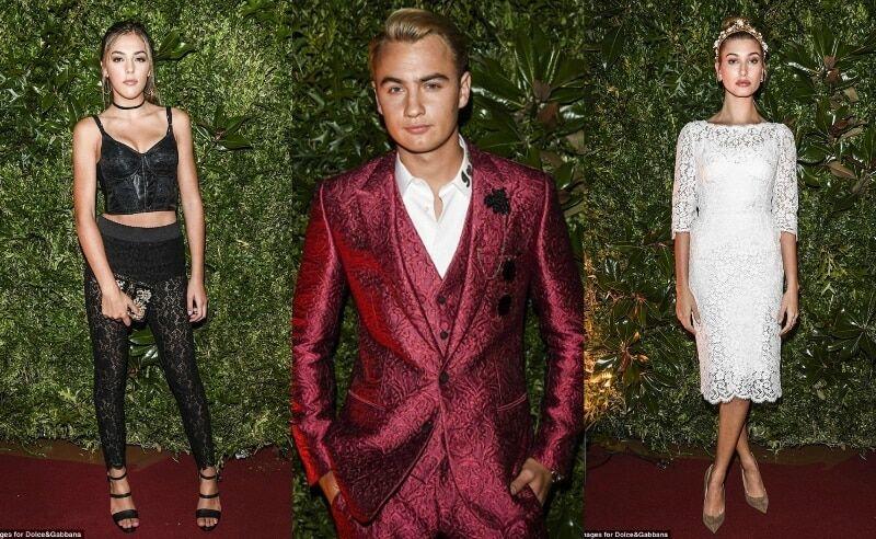Звездные дети: дочь Сталлоне, сыновья Андерсон и Лоу на вечеринке Dolce&Gabbana в Милане