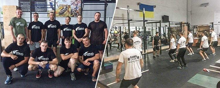 Фізпідготовка по-європейськи: українських військових тренуватимуть за системою кросфіт