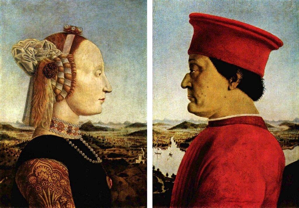 У мережі на картині епохи Ренесансу розгледіли Путіна і Порошенка