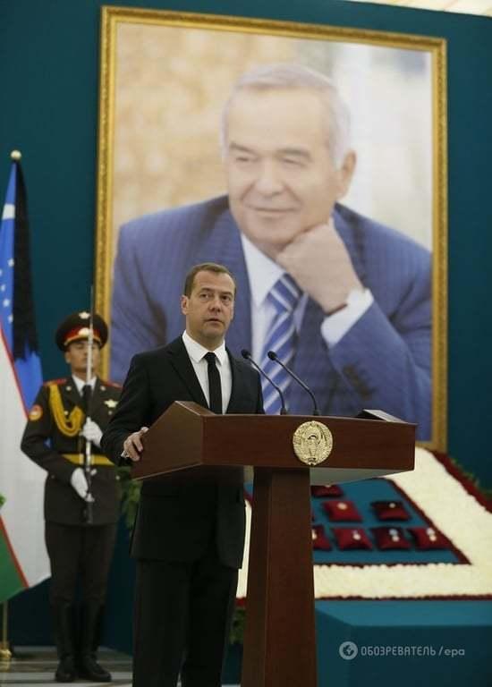 В Узбекистані почалася церемонія прощання з президентом Карімовим