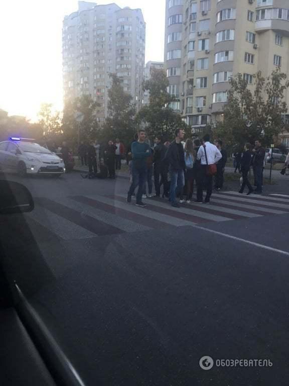 В Киеве вооруженный грузин напал на таксиста, убегая от полиции
