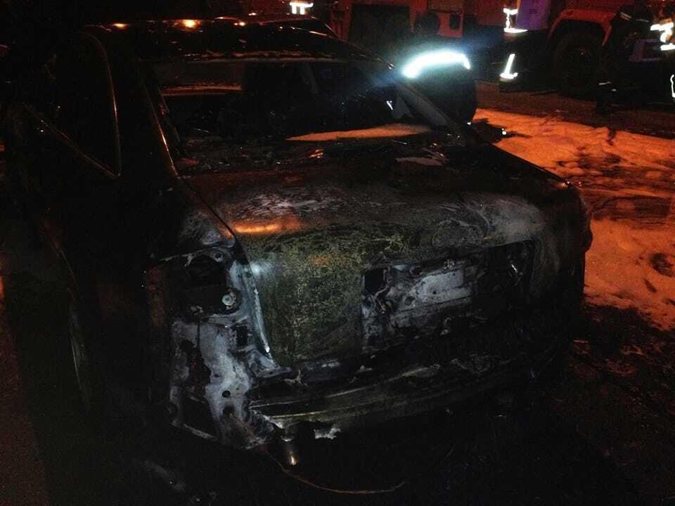 У Києві за добу горіло сім автомобілів