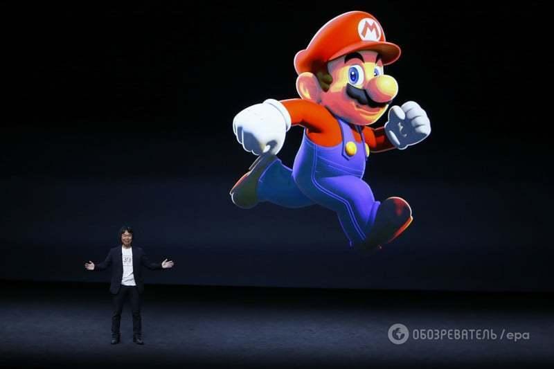 """Nintendo анонсировала эксклюзивный выход игры """"Super Mario Run"""" на iOS"""